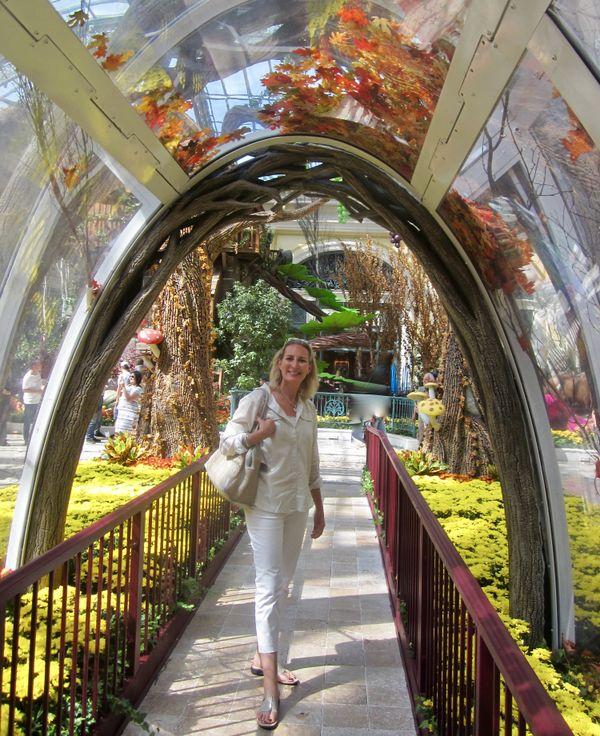 Las Vegas Venetian Hotel archway garden. thumbnail