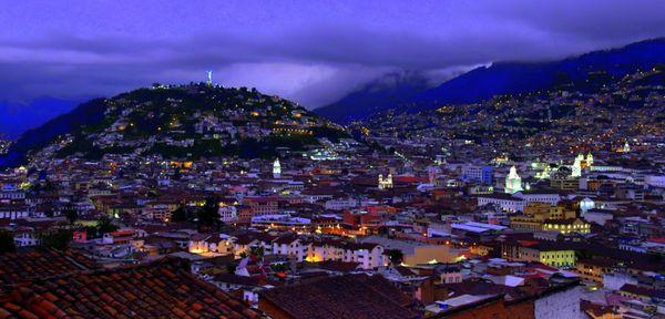Quito at Dusk thumbnail