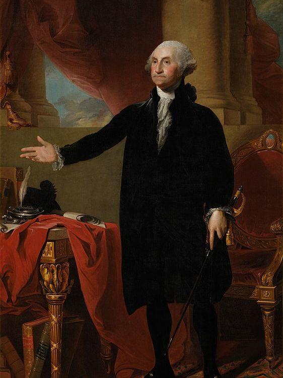 Stuart's Lansdowne portrait of George Washington