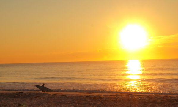 Summer Surfer at the New Jersey shore thumbnail
