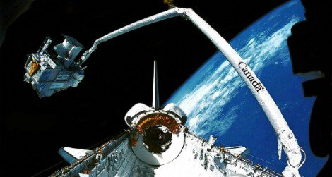 The IMAX camera shared majestic views of outer space to audiences down below