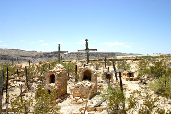 Terlingua Ghost Town Cemetery  thumbnail
