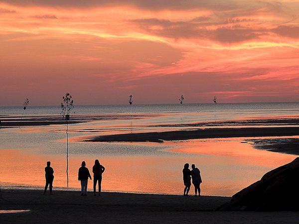Sunset at Rock Harbor, MA thumbnail