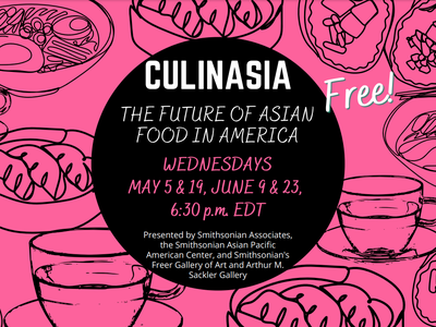 CULINASIA panel discussions will be held May 5, May 19, June 9 and June 23.