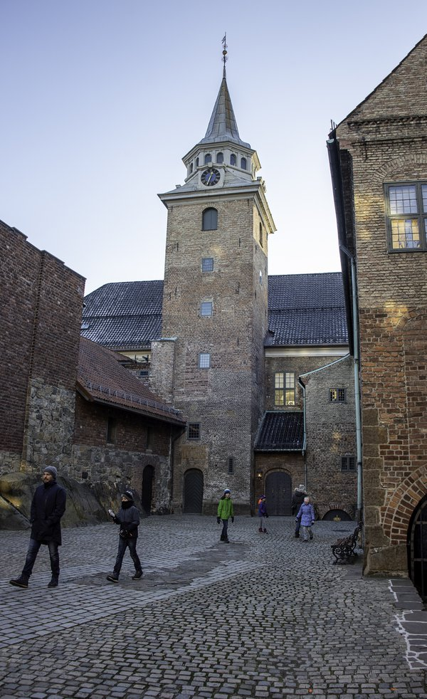 Cold Day at Akershus Fortress thumbnail