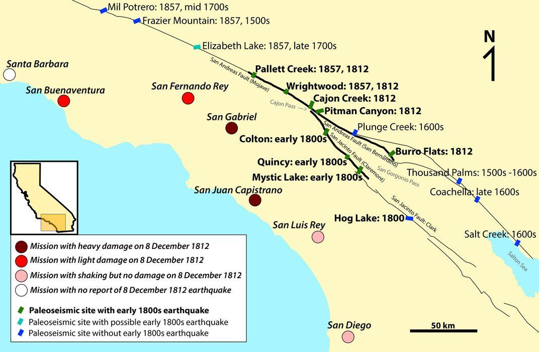 San Andreas May Have Had Help Triggering a Historic Earthquake