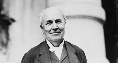 Thomas Edison circa 1914