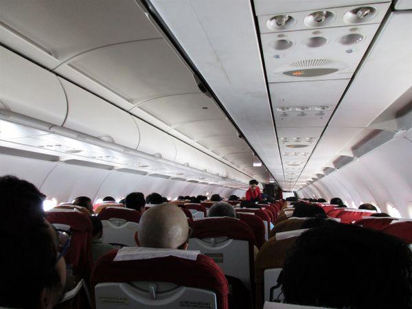 Inside Air India Flight thumbnail