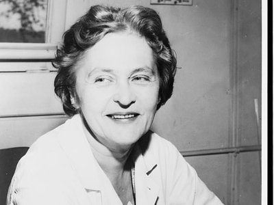 """Maria Telkes, known as the """"Sun Queen"""" for her focus on solar energy."""