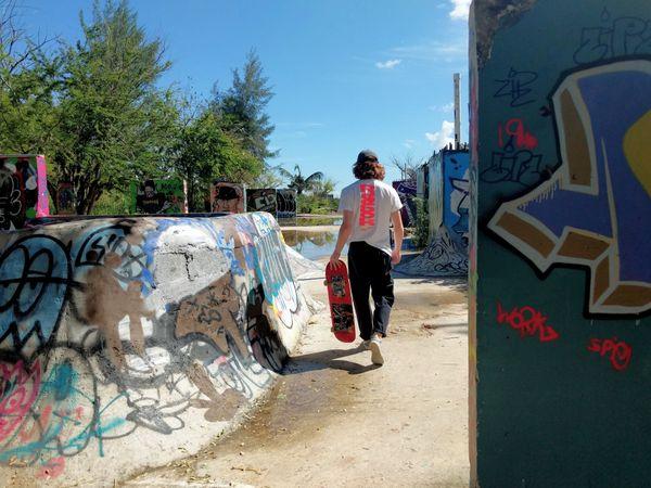Skateboarding in Puerto Rico. thumbnail