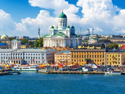 A sunny day in Finland, the world's happiest country in 2018 according to new UN report.