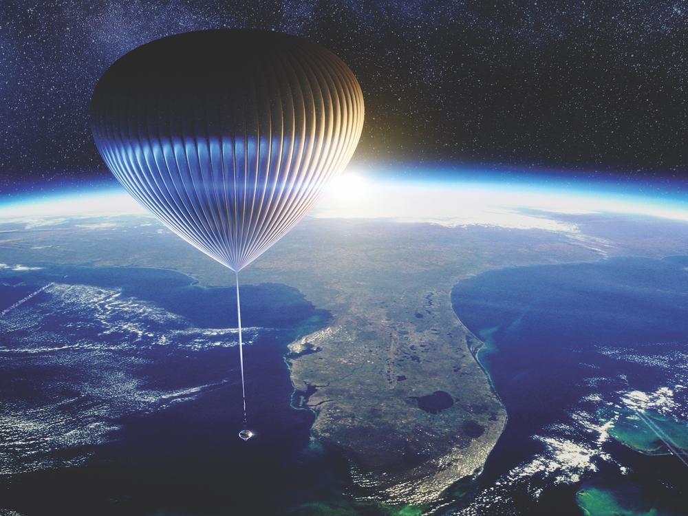 Rendering of Spaceship Neptune