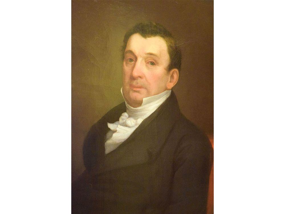 portrait of unknown judge