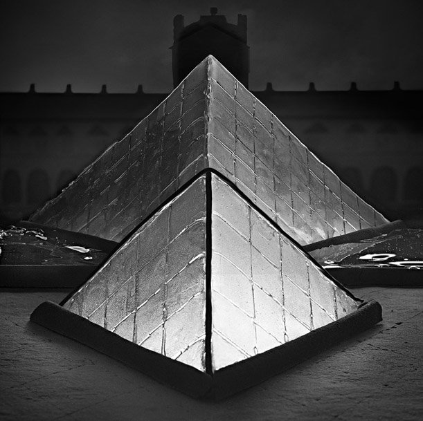 I.M. Pei's addition to the Louvre