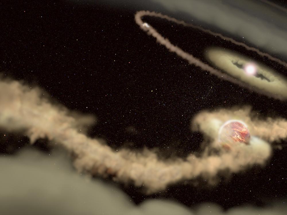 Baby Planets Illo