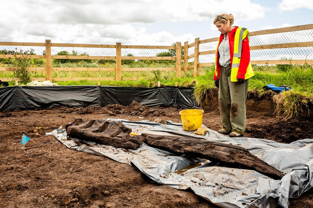 Eight-Foot-Tall, 1,600-Year-Old Statue of Pagan Deity Found in Ireland