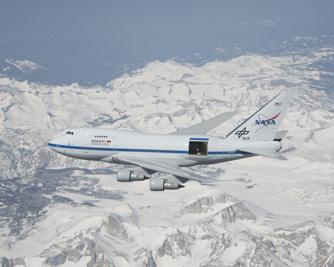 NASA's Flying Telescope Spots Oldest Type of Molecule in the Universe