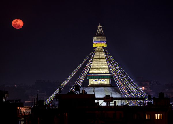Moonrise over Kathmandu thumbnail