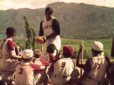 The Pittsburgh Pirates All-Star Roberto Clemente was greatly admired by his Puerto Rican community (above: in 1962 coaching a local children's team) for his philanthropic pursuits on the island.