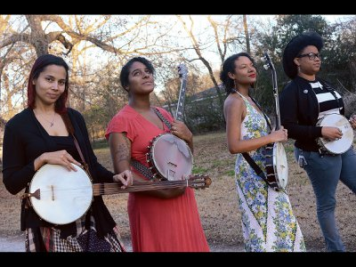 Rhiannon Giddens is joined by Canadian-American musician-songwriter Allison Russell (Po' Girl, Birds of Chicago), Leyla McCalla (Carolina Chocolate Drops) and Amythyst Kiah (Amythyst Kiah & Her Chest of Glass) for the new album Songs of Our Native Daughters.