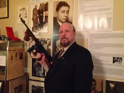 Lorcan Ortway turned his lifelong obsession with organized crime into a museum in New York.