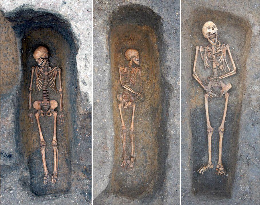 individual burials
