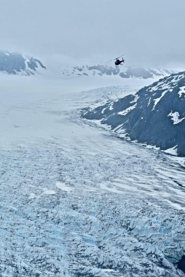Mendenhall Glacier from Above thumbnail