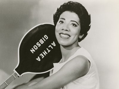Sixty-five years ago Althea Gibson (above: in 1959) broke the color line at the French Open.