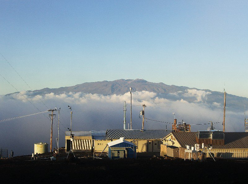 The Mauna Loa Observatory where Keeling's observations are made.