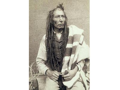 Pîhtokahanapiwiyin, better known as Chief Poundmaker