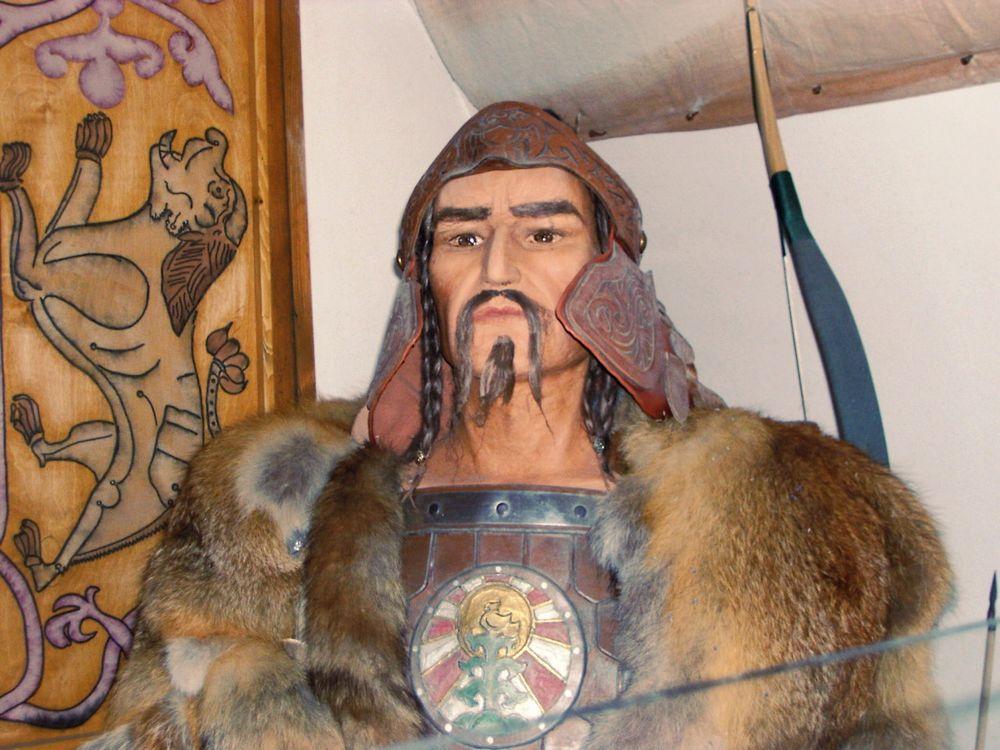 Attila in a museum in Hungary