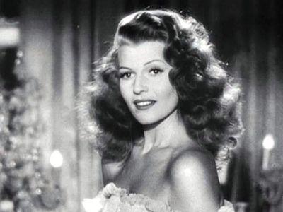 Rita Hayworth in 'Gilda.'