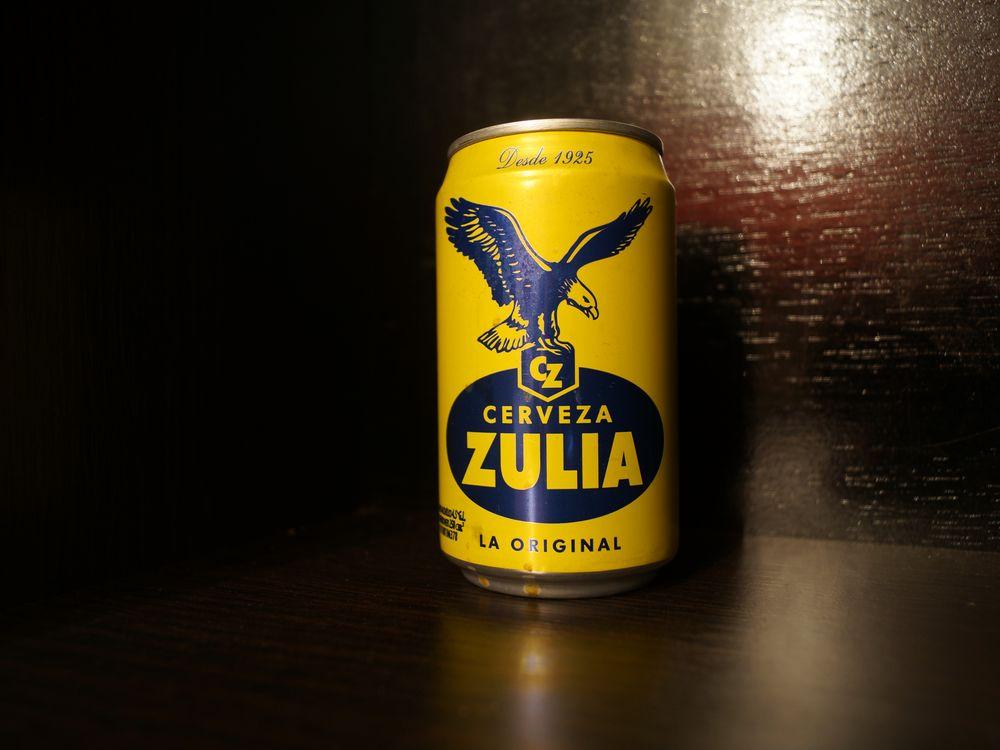 Cerveza Zulia Venezuelan Beer