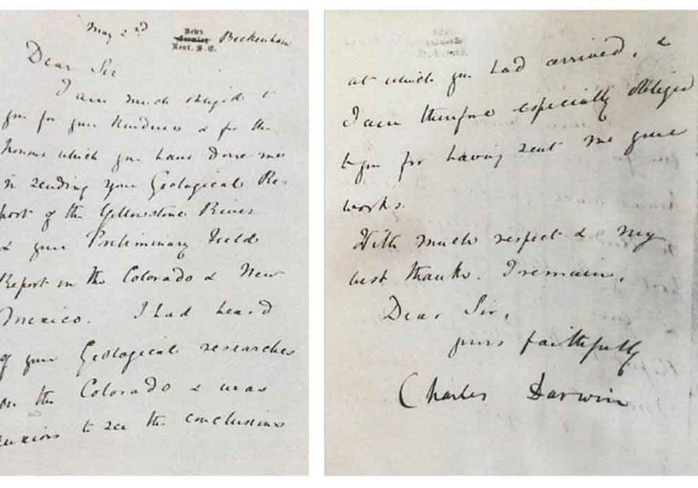 Stolen Darwin Letter