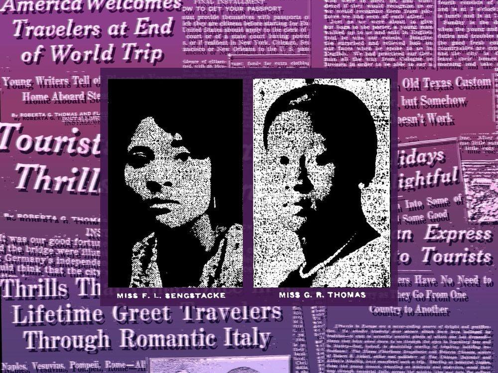 Roberta G. Thomas and Flaurience Sengstacke graphic