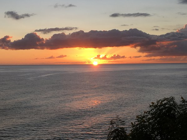 Sunset Over the Caribbean Sea thumbnail