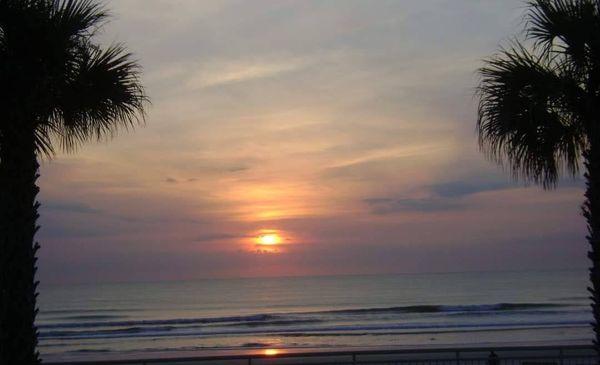 Sunrise at Daytona Beach thumbnail