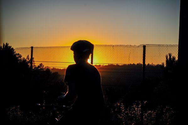 Sunset Cyclist  thumbnail