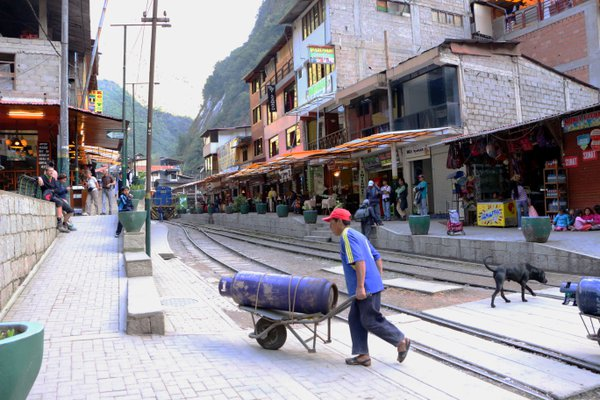 Life in Aguas Calientes, Peru thumbnail