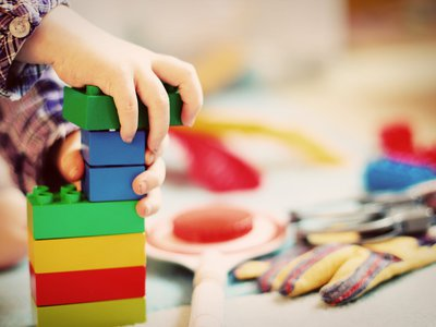 The original kindergarten concept had children playing with a series of toys that were supposed to be given to them in a specific order to help them learn.