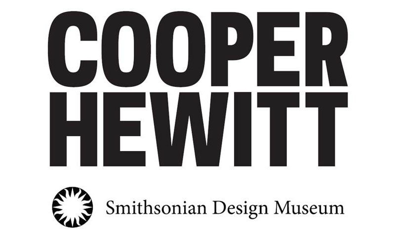 The new logo for the Cooper Hewitt, in its eponymous typeface.