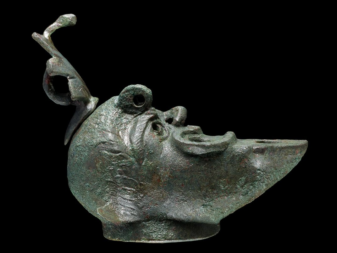 This Grotesquely Shaped Lamp Brought Luck to Jerusalem's Ancient Residents