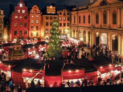 The Stockholm Guild, which runs the market, was founded in 1914 to bring the tradition of a Christmas market back to Stockholm (there was a Christmas market here as early as 1523).
