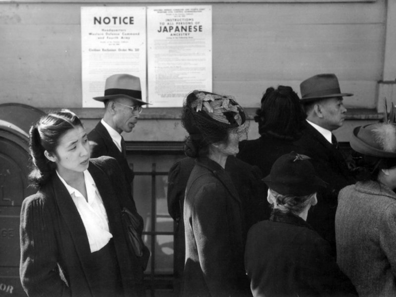 Japanese American internment camp detainees