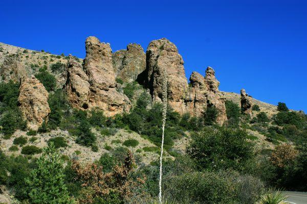 Desert Bluffs at Big Bend National Park thumbnail