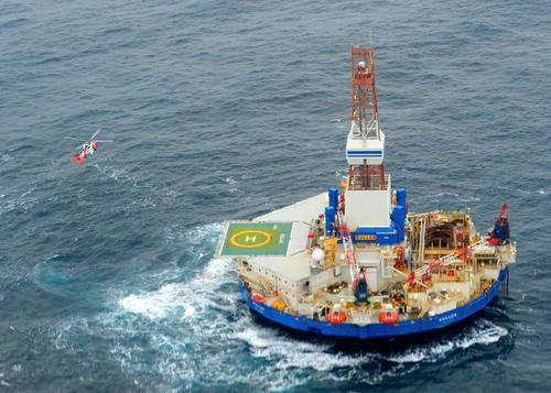 Arctic Offshore Drilling Still Going Poorly As Shell's Rig Runs Aground