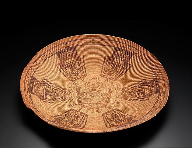 Chumash Coin Basket California and the Great Basin