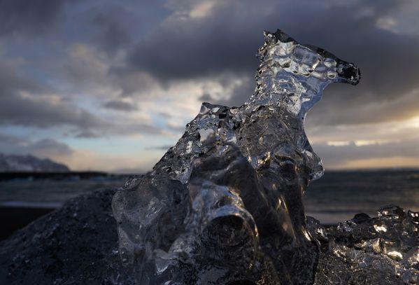 Ice Horse, Diamond Beach thumbnail