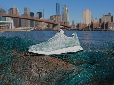 Adidas designed a shoe with bits of ocean garbage and illegal fishing nets. Would you wear it?