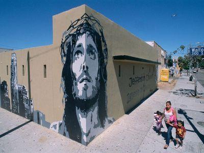 Jefferson Church, Walton Avenue at Jefferson, Los Angeles, 2012